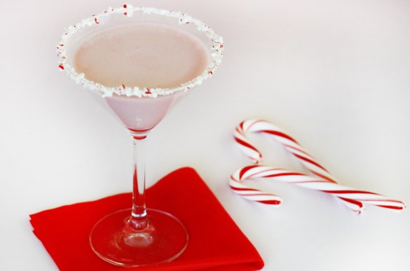 peppermint cocktail holiday cocktail candy cane cocktail