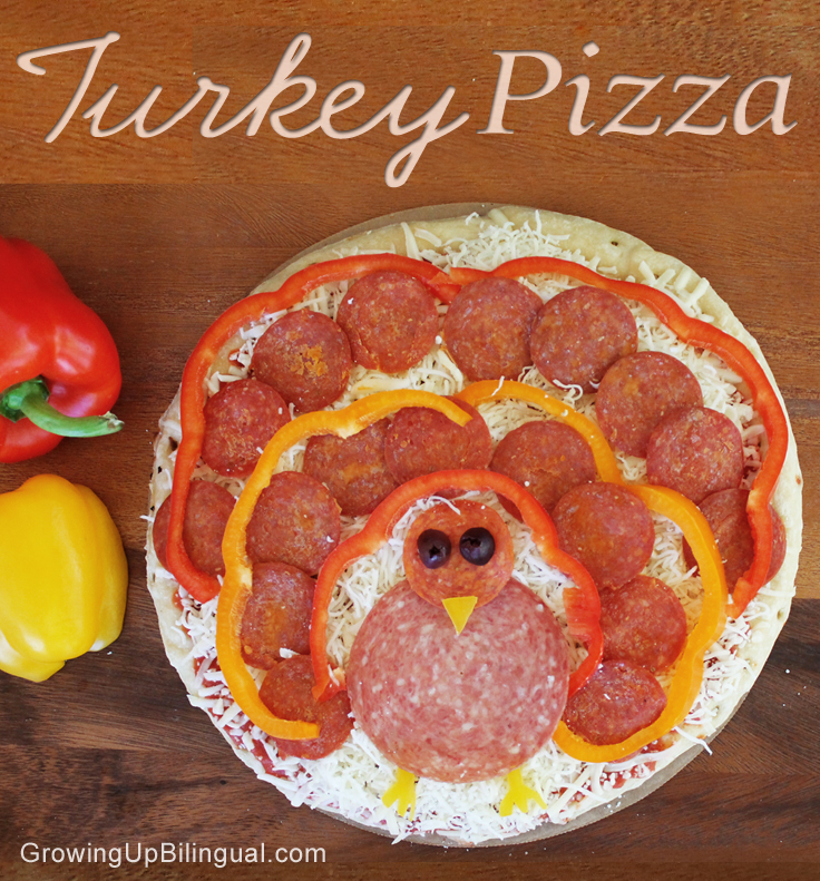 pizza turkey turkey pizza Thanksgiving black friday