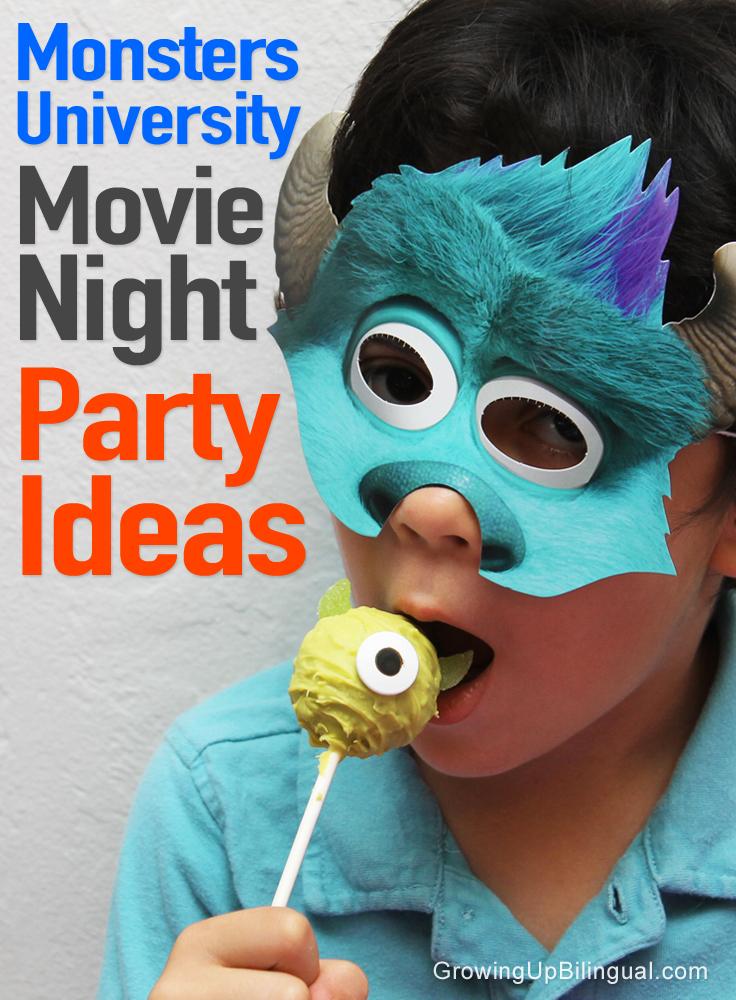 Monster's University Party Ideas