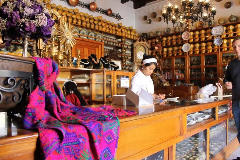 Dulces típicos Doña Maria Gordillo Guatemala