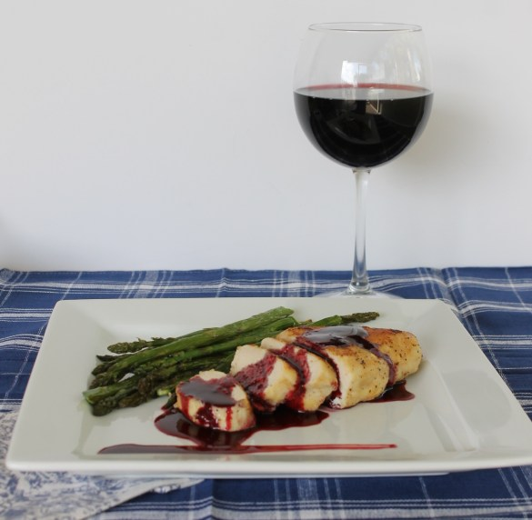 natural chicken breasts with rosa de jamaica hibiscus sauce #shop