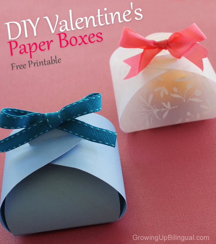Beautiful Valentines Diy Paper Boxes And Flowers Tutorial