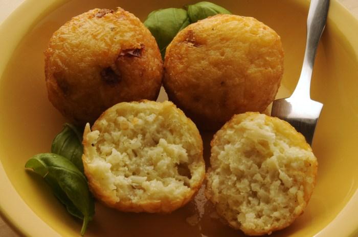 Rice Balls Argentine