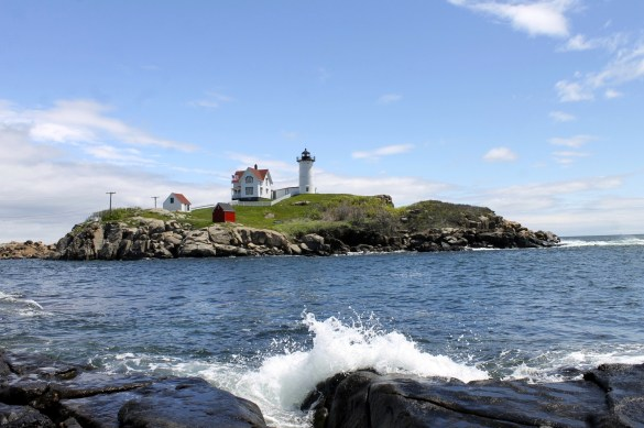 Nubble light house, one of the most picturesque light houses in Maine.