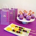 Sophia the First Party princess cupcake toppers and free printables