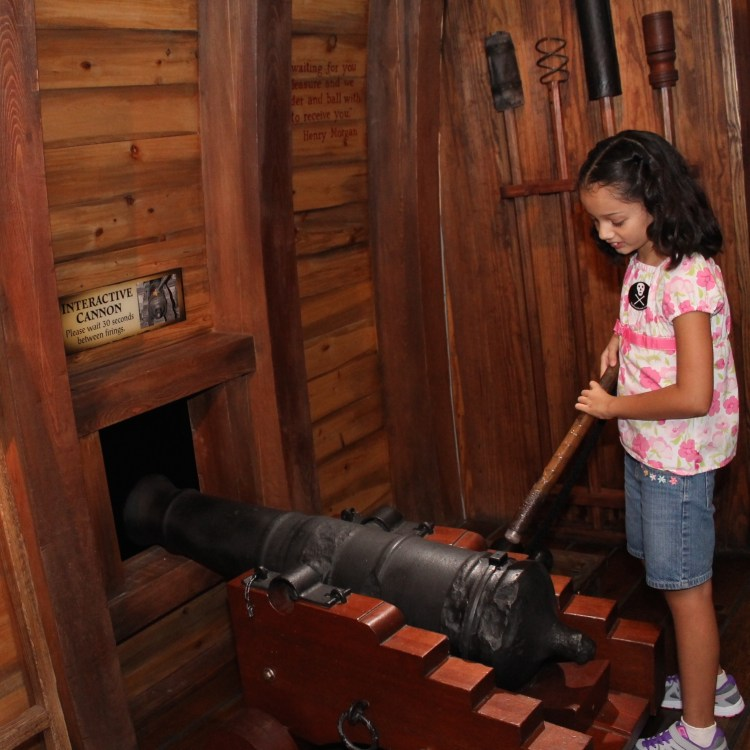 Interactive Exhibits at the Pirate and Treasure Museum in Saint Agustine