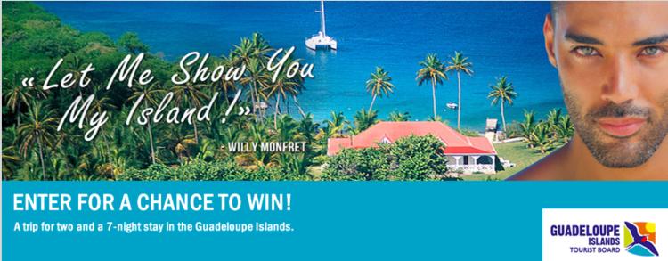 Guadeloupe Islands giveaway