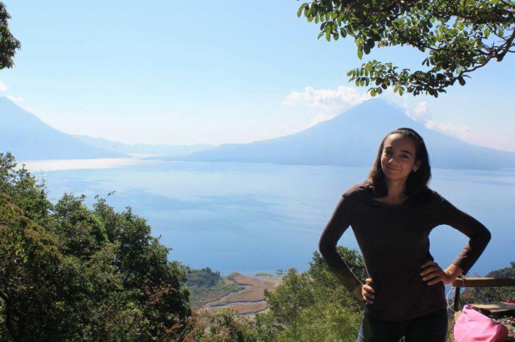 Disfrutando de un viaje a mi tierra, Guatemala.