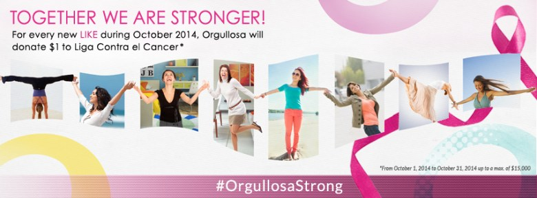 orgullosa breast cancer awareness