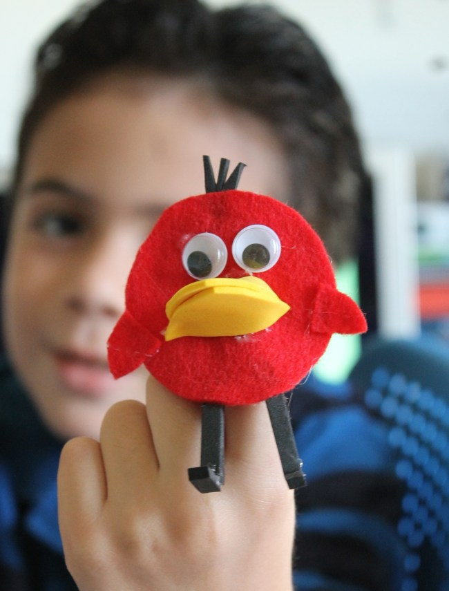 Peep and the Big Wide World finger puppets