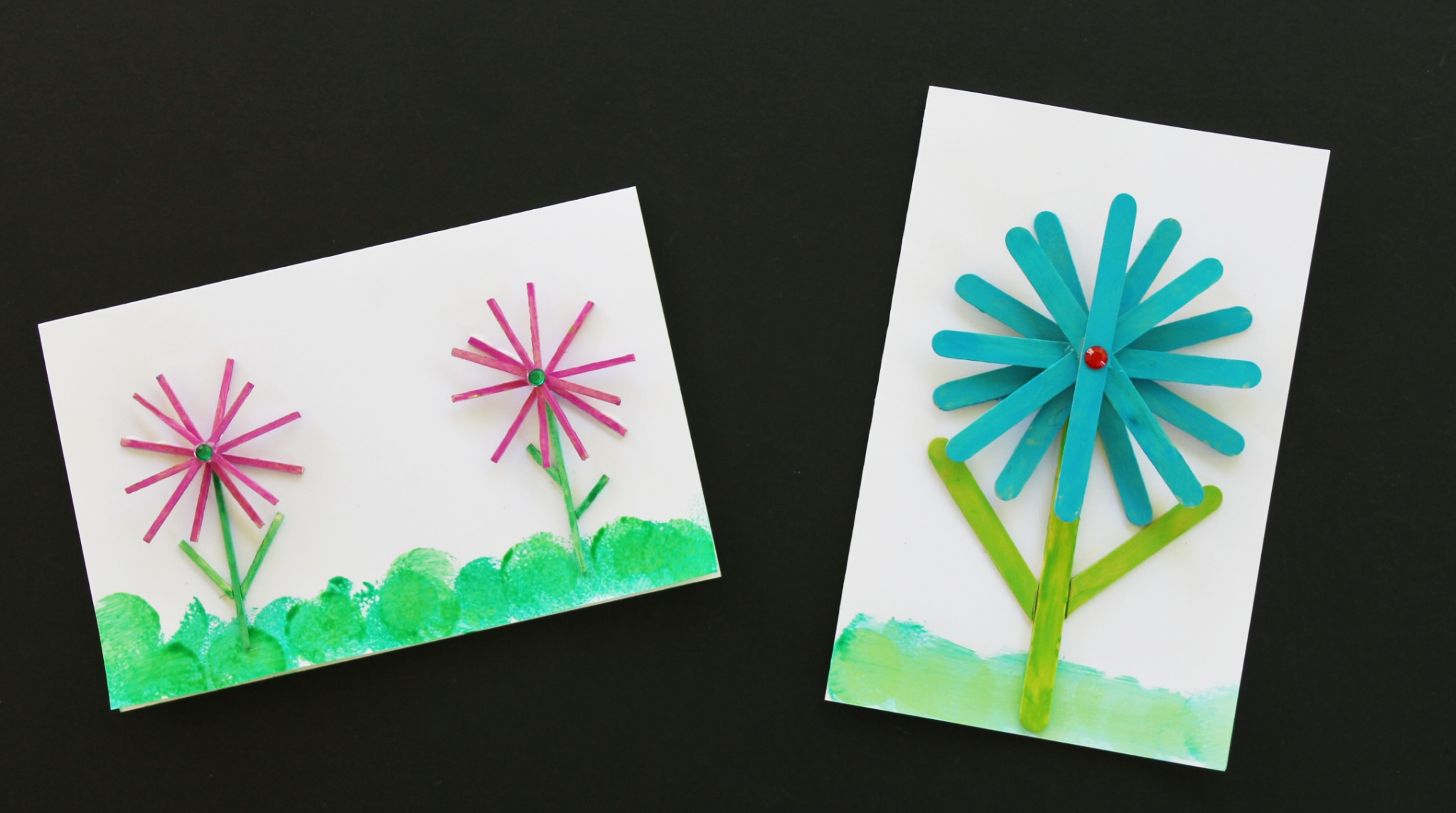 easy diy thank you card for kids