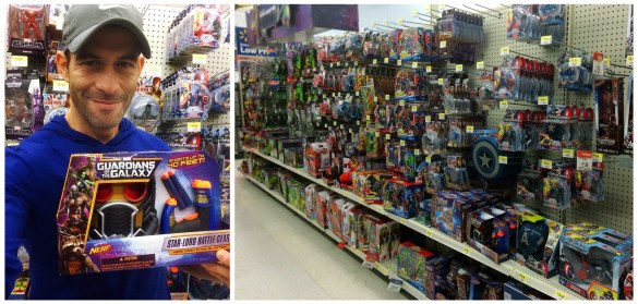Buying Guardians Of The Galaxy toys at Walmart