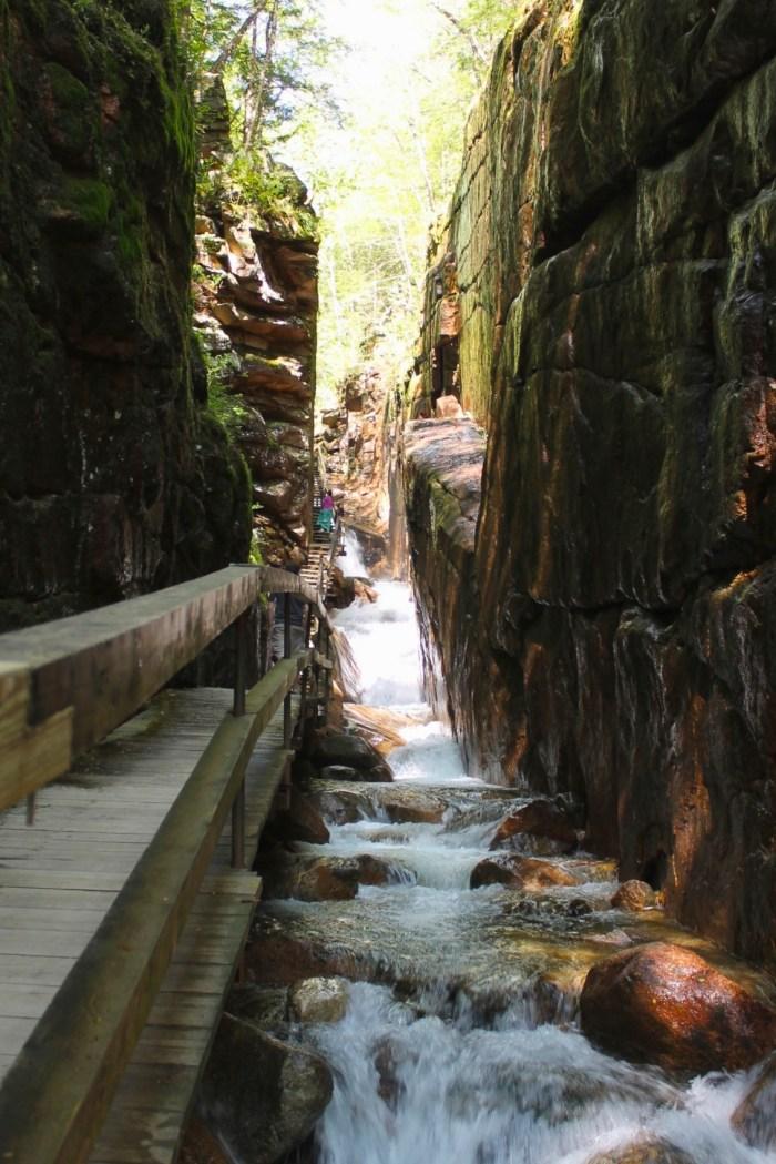 Flume Gorge Franconia State Park New Hampshire