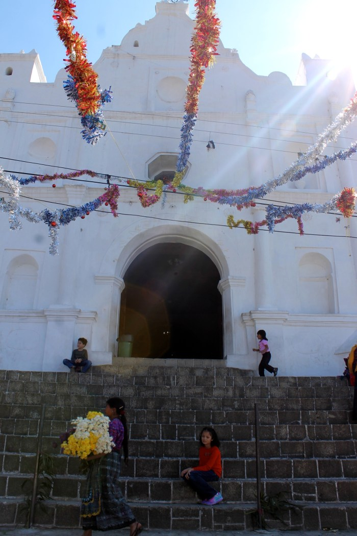 Church at San Antonio Palopo