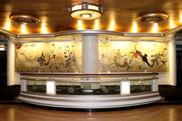 Queen Mary interior