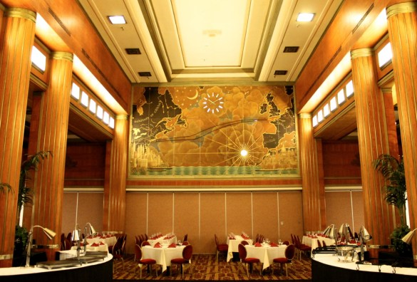 The Grand Salon at the Queen Mary