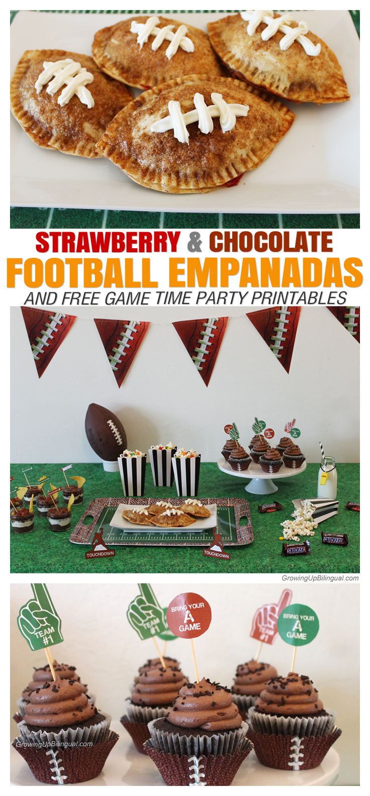 Great football party ideas! So easy!