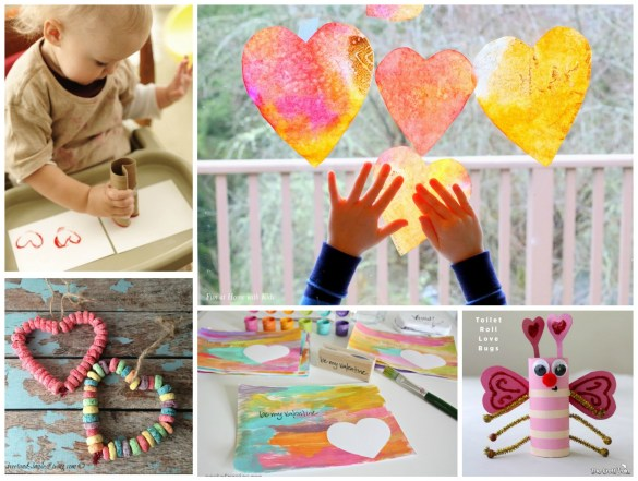 easy Valentines crafts for kids