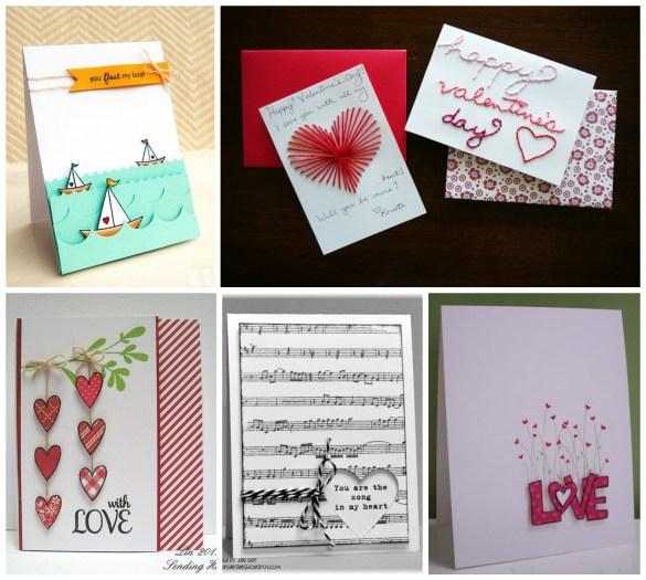 Easy Valentines DIY card ideas