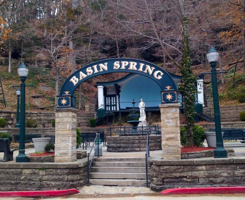 Basin Spring Park Eureka Springs