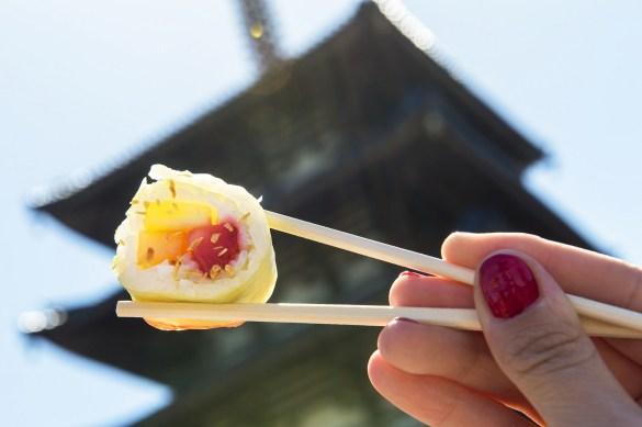 Outdoor Kitchen Offerings at Epcot International Flower & Garden Festival: Frushi