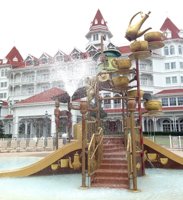 Disney's Grand Floridian Resort: water park