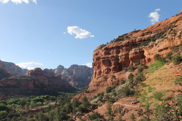 Boynton Vista Trail hiking in Sedona