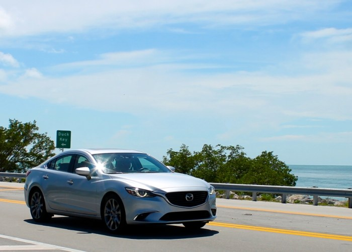 Road Tripping on The Overseas Highway With the Mazda 6