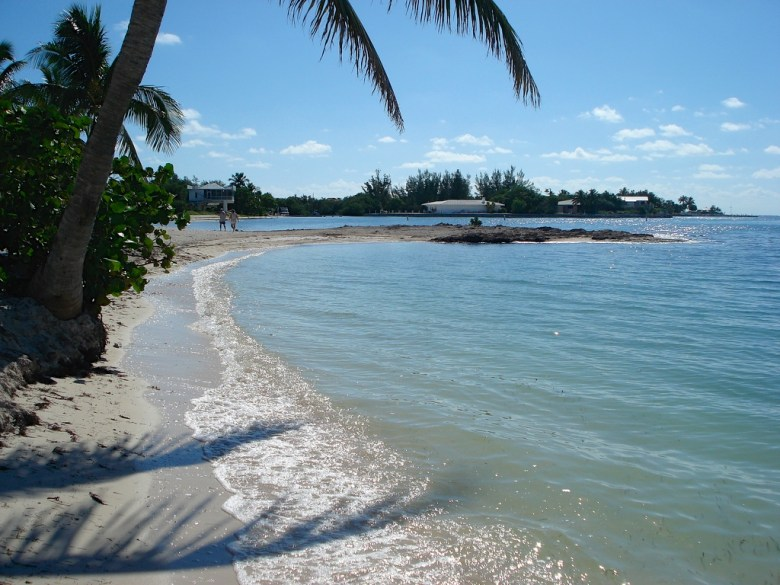 Sobrero Beach in the Florida Keys