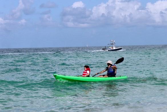 Ann Maria Island sea kayaking