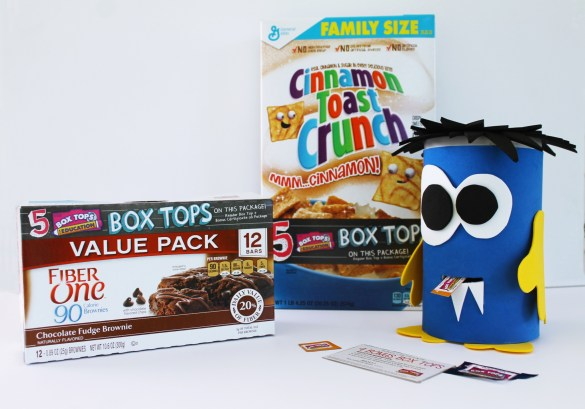 box tops for education collection box