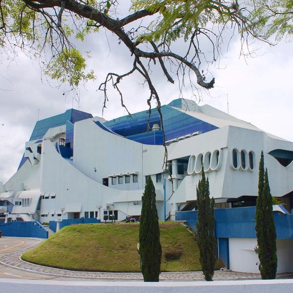 Teatro Nacional at the Centro Cultural Miguel Angel Asturias in Guatemala City.