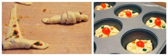 Easy Rosca de Reyes bollos
