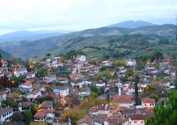 Sirince, Turkey seen from Nisanyan Hotel