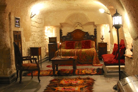 Anka's lair at Sacred House Hotel in Urgup