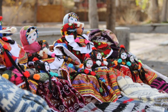 hand made traditional Turkish dolls in Sognali valley