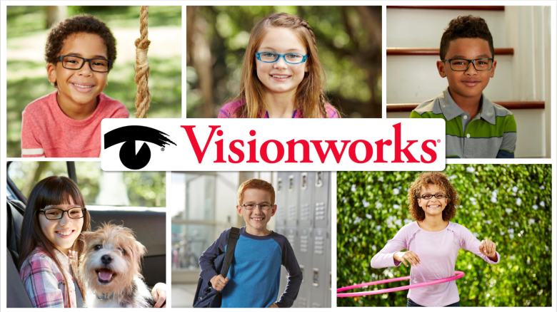 Vision works kid's eyeglasses