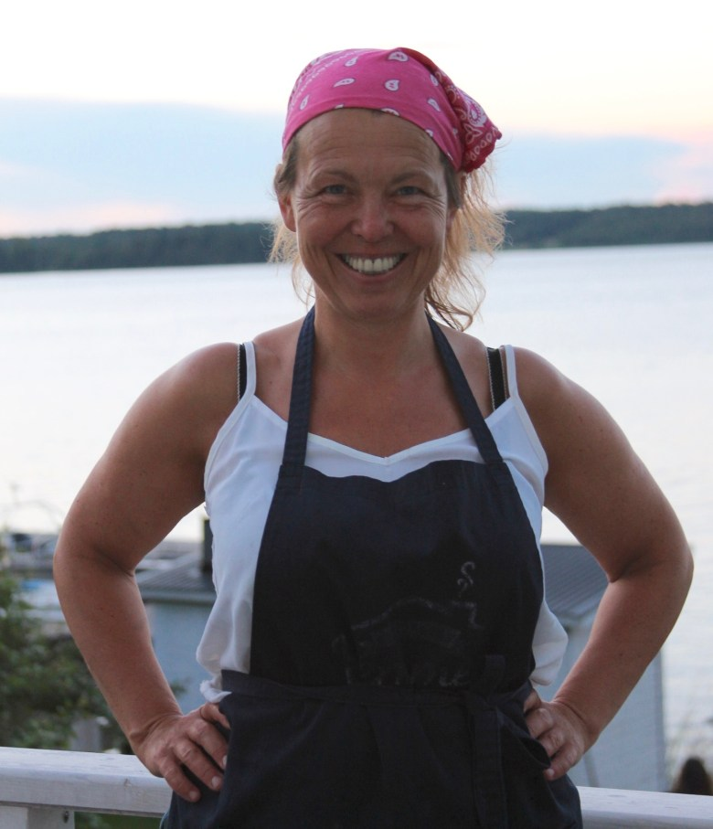 Chef Lisa Lönner Pulkkinen