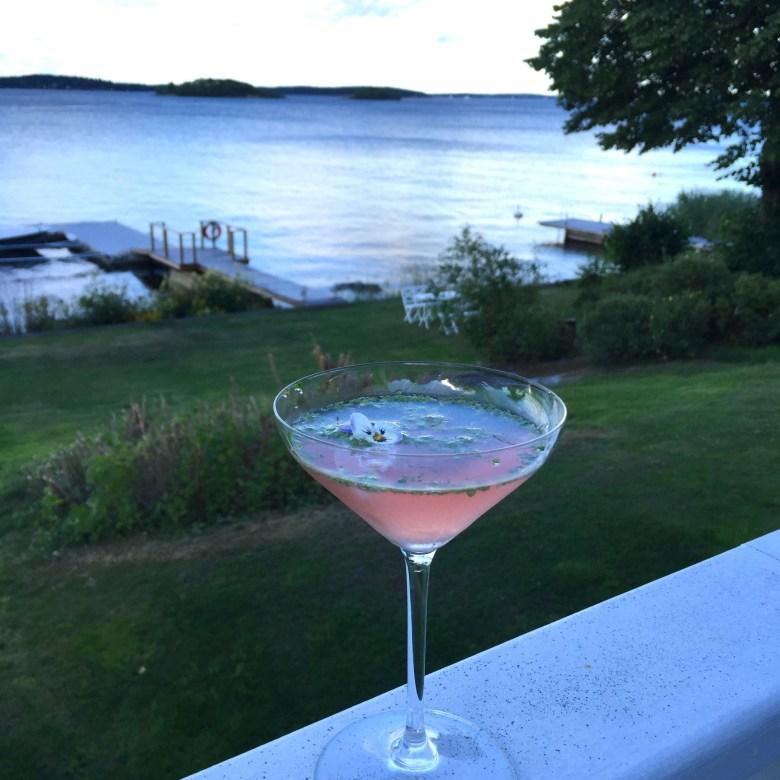 herbal cocktail at Husmor Lisa