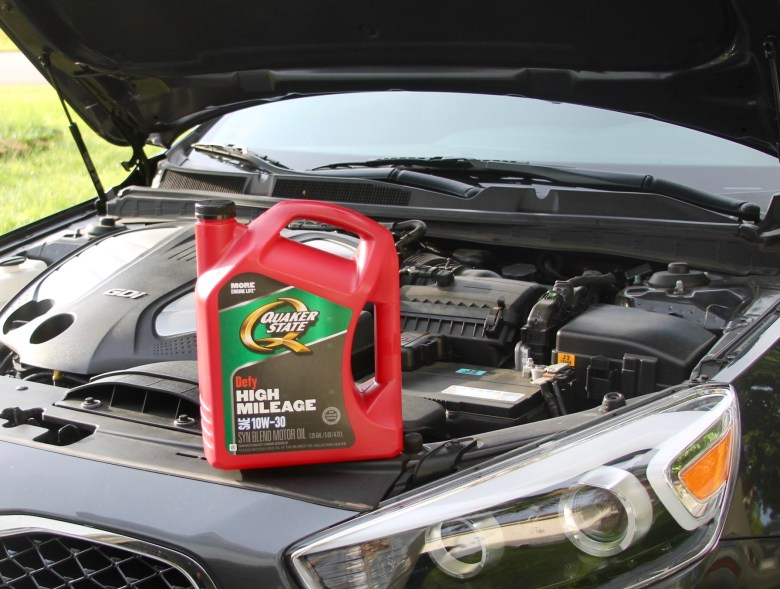 changing your car's oil