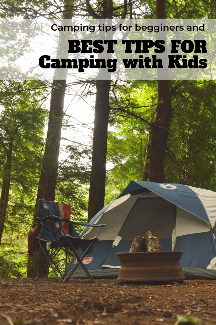 Best tips for camping with kids