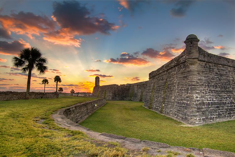 Castillo de San Marcos Sunrise