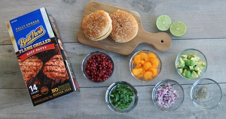 tyson hamburger ingredients image