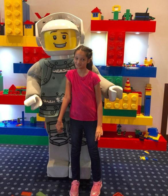 Lego mini figure character