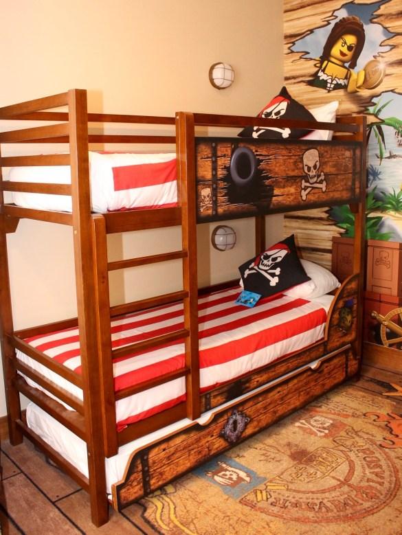 Legoland hotel bunk beds