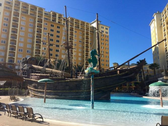 Lake Buena Vista Resort Village and Spa pirate ship pool