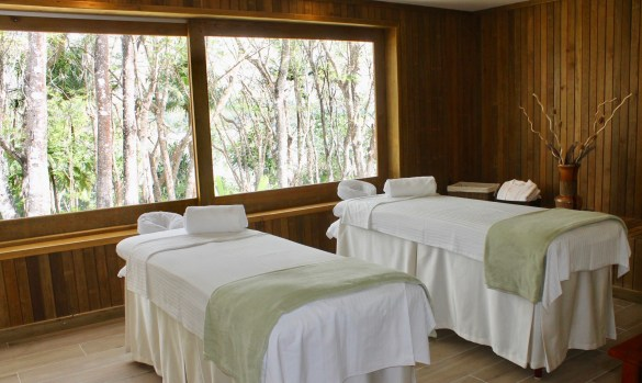 spa at Las Lagunas Hotel in Guatemala