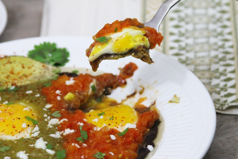 Huevos divorciados recipientes divorced eggs