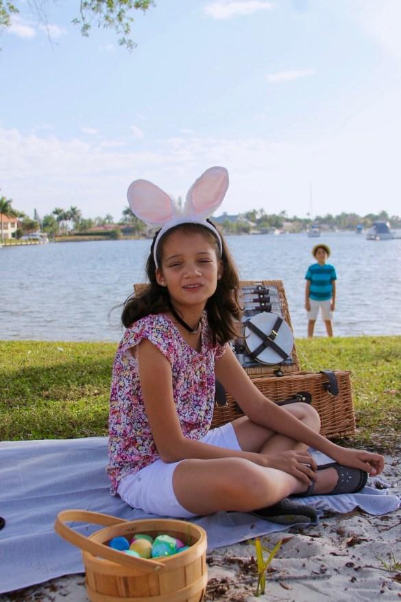 Latino Easter brunch picnic