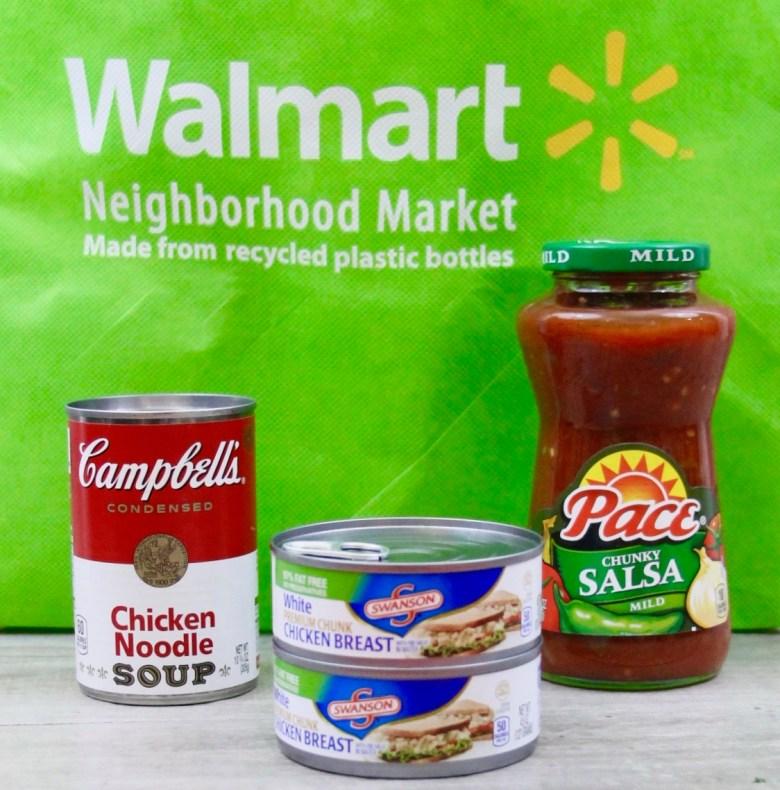 Campbells products at Walmart